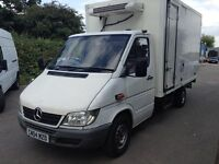 2004 Mercedes sprinter 311 cdi Luton box fridge freezer van