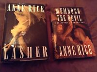 Anne Rice Hardcover Books