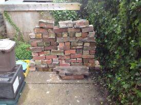 Approx 100 reclaimed bricks