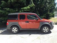 2004 Honda Element w/Y Pkg SUV, Crossover