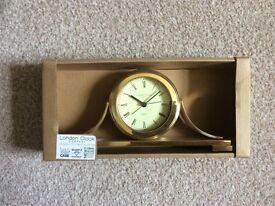 London Clock Company Gold Mantle Clock