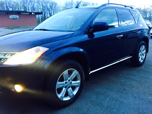 2006 nissan murano SL AWD . Come with emission test