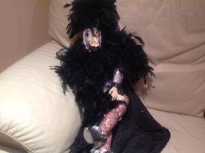 Statuette style Marionette antique 22 po tres unique $49