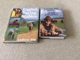 HORSE RACING BOOKS, 2, HARDBACK, BRAND NEW