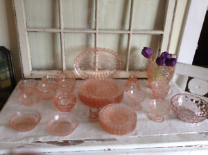 Lot of depression glass - make an offer