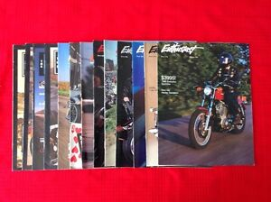 13 Harley Davidson Enthusiast Magazine fom 1985 to 1991 West Island Greater Montréal image 2