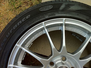 Original O.Z. Ultraleggera rims 5x100