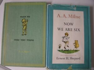 Set of Classic Pooh books (originals)