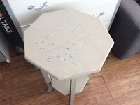 Upcycled by Vintage Angell- plant stand/table