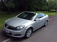 2006 Vauxhall Astra 1.8 Twin Top Convertible-64,000-2 owners-great summer value