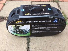 Powakaddy Winter Wheels (Used)