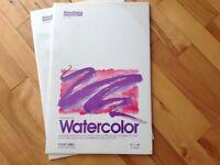Neuve 2 Tablettes de Papier Peinture à l'eau Huile Acrylique