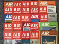 25 copies of Air Pictorial magazine from 1980s