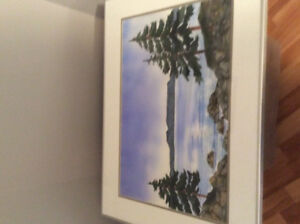Original watercolor - Sleeping Giant and Pines