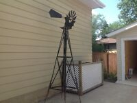 Windmill with weathervane obo