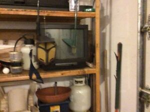 2 TVs older style in good working condition