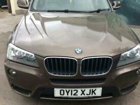 2012 12 BMW X3 2.0 XDRIVE20D SE 5D 181 BHP DIESEL