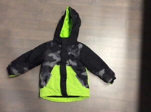 4t toddler boy 3 in 1 childrens place winter jacket