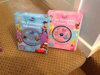 2 Box Sets of Disney books and Discs