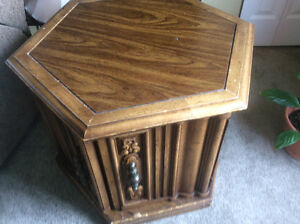 Six sided end  table