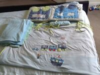 Mothercare cotbed bedding set