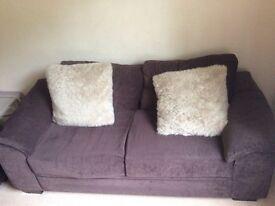 £85 2x sofas