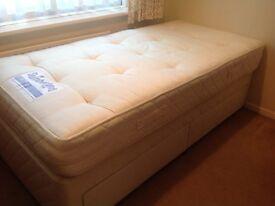 Slumberland single 2 drawer bed