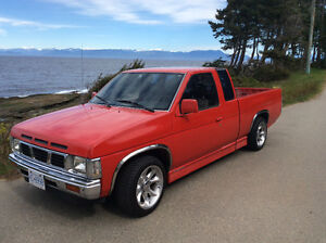 $2195 OBO A Reliable Charmer! 1989 Nissan Hardbody Red Pickup!