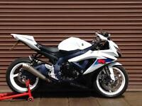 Suzuki GSXR600 599cc 2011. Only 2865 miles LO Yoshimura. Delivery Available.