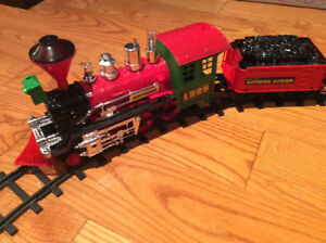Lionel Christmas Train Set - Large G-gauge with Remote