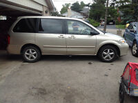 2003 Mazda MPV Minivan, $1000 AS IS DRIVES IT HOME