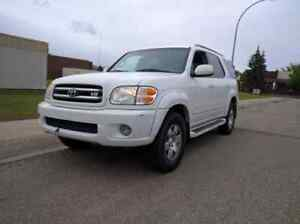 2004 Toyota Sequoia LIMITED FULLY LOADED