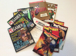 Magazines - video & PC from 1990s