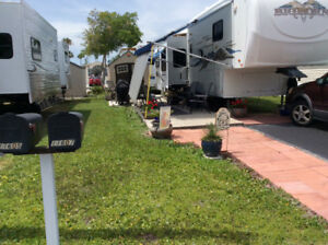Trailer, 2006  Big Horn Fifth Wheel, located in Port Richey, FL.
