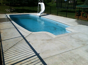 Fiberglass pool buy sell items tickets or tech in - Swimming pools in hamilton ontario ...