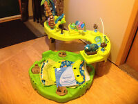 Evenflo animal planet triple fun excersaucer