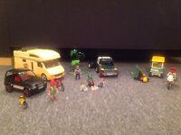 Playmobil. Camping