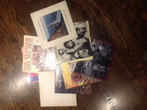 Approx 50 rock albums records from the seventies, eighties
