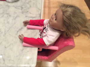 American Girl portable seat - doll not included