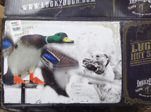 Lucky Hot Shots Mallard Decoy - never used
