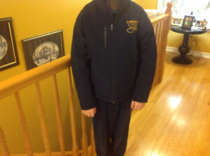 Kids Bedford Blues jacket. Size small equals 8-10 in size