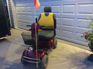 Rascal 655 mobility scooter