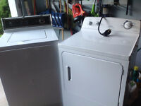 Very good washer and dryer