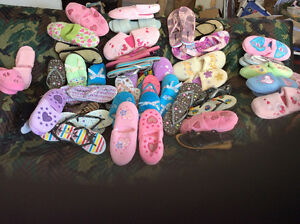 Wedding, anniversary home slippers and flip flops for guest
