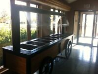 Reconditioned cold buffet table