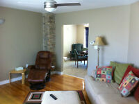 Ready Aug 1st! 3bdrm w/big yard/deck, laundry, parking $400/room
