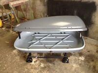 Car roof box roofbox pod