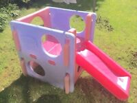 Little tikes slide climber cube