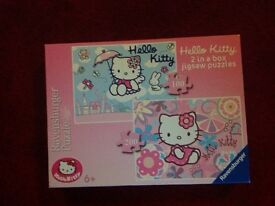 Hello Kitty 2 in a box jigsaw Puzzles 6+ 100 pieces