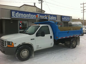 2004 FORD F-350 DUALLY 10FT DUMP BOX